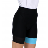 Cycling Pant pro with pad Turquoise - GANNON