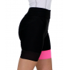 Cycling Pant pro with pad Fluo/Pink - GANNON