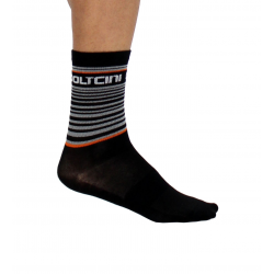 Socks High Summer GANNON black-orange