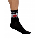 Socks High Summer VISTA black-red