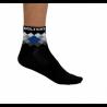 Socks Short Summer VISTA black/blue