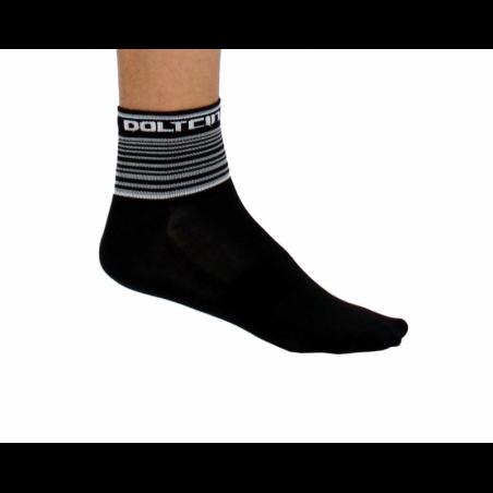 Чорапи ниски летни, GANNON black/white