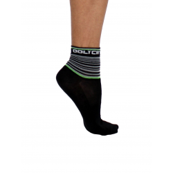 Чоратпи ниски летни, GANNON black/fluo green