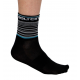 Socks Short Summer GANNON black/turquoise