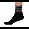 Socks Short Summer GANNON black/pink