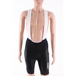 Cycling Pant Bib - Long Distance PRO Black Willems Veranda