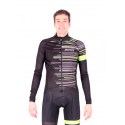 Cycling Jacket Winter PRO FLUO GREEN - GANNON