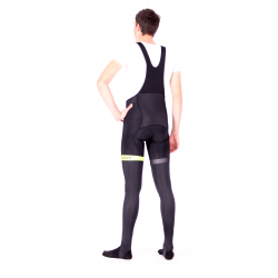 Cycling BibTight winter PRO FLUO GREEN - GANNON