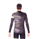 Cycling Jersey Long Sleeves FLUO YELLOW - GANNON