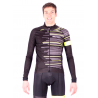 Cycling Jacket Winter PRO FLUO YELLOW - GANNON