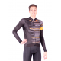 Cycling Jersey Long Sleeves FLUO ORANGE - GANNON