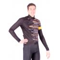 Cycling Jacket Winter PRO FLUO ORANGE - GANNON