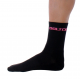 Socks High Winter GANNON black-fluo rose