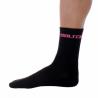 Socks High Winter GANNON black-fluo rose