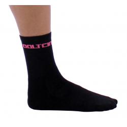 Чорапи високи зимни GANNON black-fluo rose
