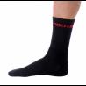 Socks High Winter GANNON black-red