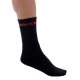 Socks High Winter GANNON black-red