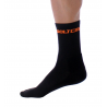 Socks High Winter GANNON black-fluo orange