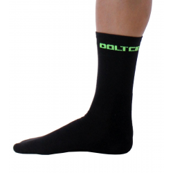 Socks High Winter GANNON black-fluo green