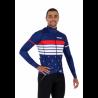 Cycling Jacket Winter PRO blue - ROULEUR