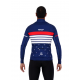 Cycling Jacket Winter PRO blue - ROULEUR