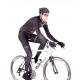 Cycling Jacket Winter PRO BLACK/WHITE - GANNON