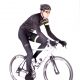 Cycling BibTight winter PRO FLUO YELLOW - GANNON