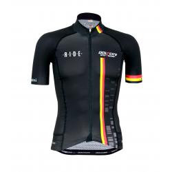 Cyclisme à manches courtes jersey pro Belg.Champ - CUBO