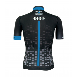 Cyclisme à manches courtes jersey pro Blue - CUBO