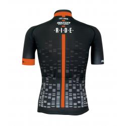 Cyclisme à manches courtes jersey pro Orange - CUBO