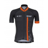 Cycling Jersey Short sleeves pro Orange - CUBO