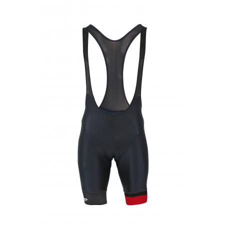 Cycling pant bib pro Red- CUBO
