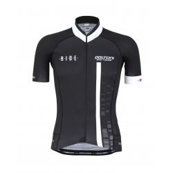 Cyclisme à manches courtes jersey pro White - CUBO