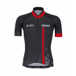 Cycling Jersey Short Sleeves PRO KIDS red - CUBO