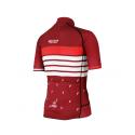 Cycling Jersey Short sleeves PRO BORDEAUX - ROULEUR