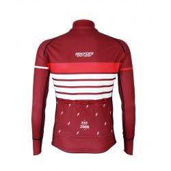 Cycling Jersey Long Sleeves PRO BORDEAUX - ROULEUR