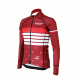 Cycling Jersey Long Sleeves PRO BORDEAUX - ROULEUR