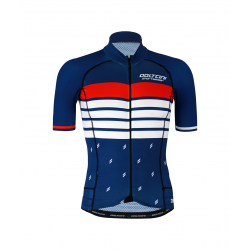 Cycling Jersey Short sleeves PRO MARINE BLUE - ROULEUR