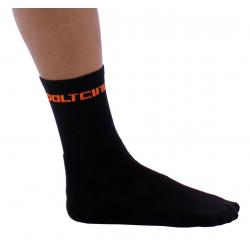Чорапи високи летни Black-Orange