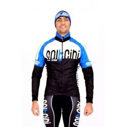 Cycling Jacket Winter blue - TOKIO