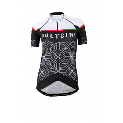 Cycling jersey short sleeves PRO SPIDER - Red