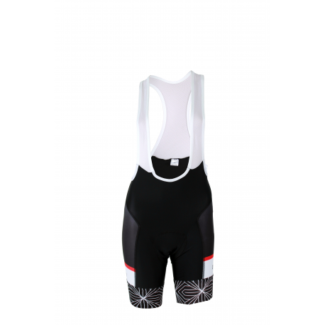 Cycling pant BIB PRO SPIDER - Red