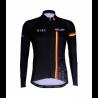 Cycling Jersey Long Sleeves BLACK/BELG.CHAMP - CUBO