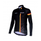 Cycling Jersey Long Sleeves BLACK/BELG.CHAMP - CUBO