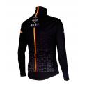 Cycling Jacket Winter PRO BLACK/BELG.CHAMP - CUBO