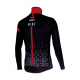 Cycling Jacket Winter PRO BLACK/RED - CUBO