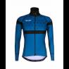 Cycling Jacket Winter PRO BLACK/BLUE - BAKIO