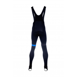 Cycling BibTight winter PRO BLUE - CUBO