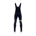 Cycling BibTight winter PRO FLUO YELLOW - CUBO