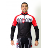 Cycling Jersey Long Sleeves red - TOKIO